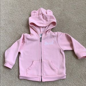 Old navy zip up hoodie